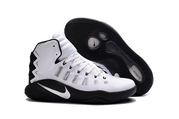 Air Hyperdunk 2016 Shoes White/black
